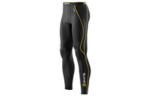 Skins A200 Men's Compression Long Tights black/yellow